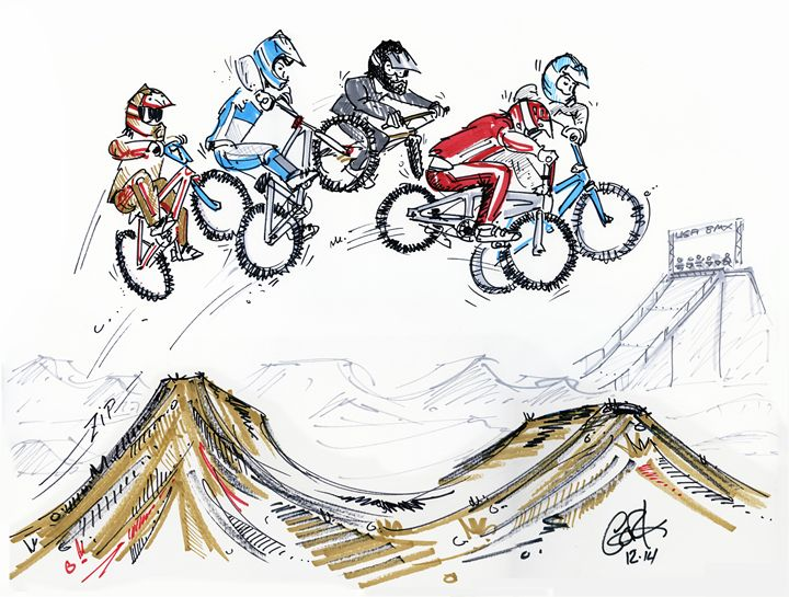 Supercross - gOrk's BMX Art