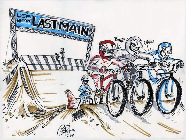 Last Main - gOrk's BMX Art