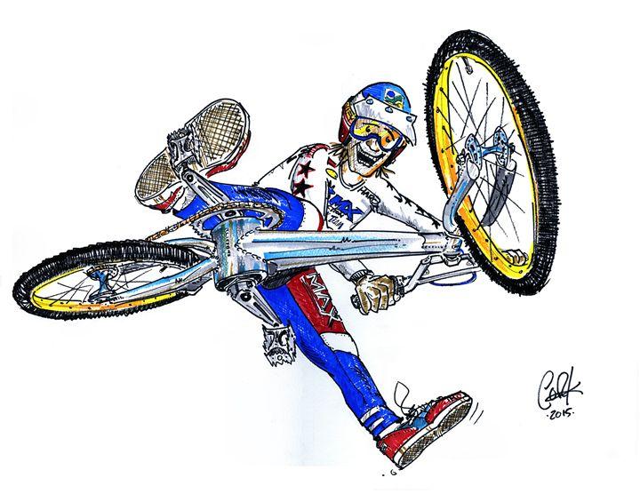 BMXA Trick Team - gOrk's BMX Art