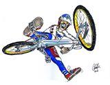 BMXA Trick Team (original art)