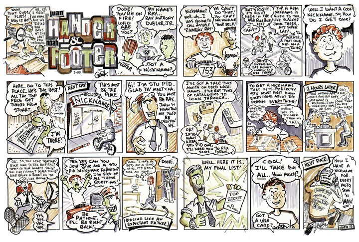 Stu Pid's Nicknames - gOrk's BMX Art
