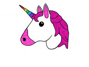 unicorn mandala  emoji