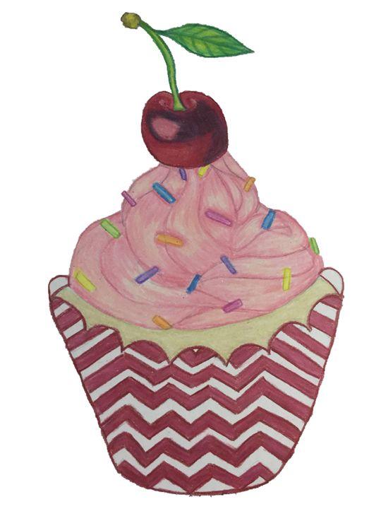 cupcake - Art By Rhi Rhi