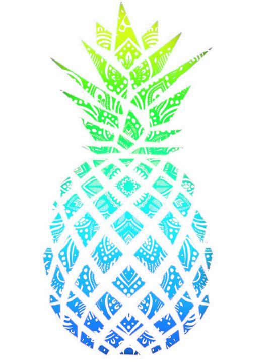 Mandala Pineapple - Art By Rhi Rhi
