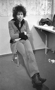 Jimi Hendrix Backstage - Paul Berriff