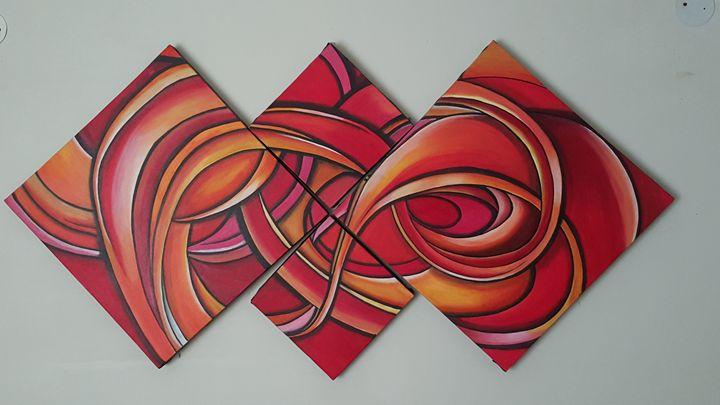 4 Piece Wall Art - Art by Anu