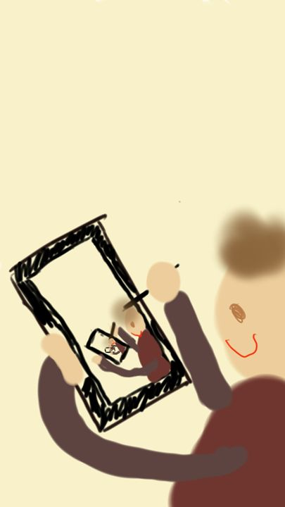 Drawing Myself - Edward Molyneux