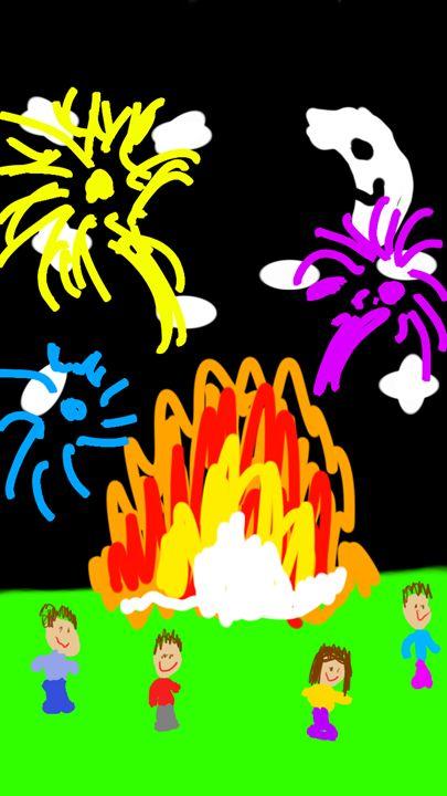 Bonfire Night - Edward Molyneux