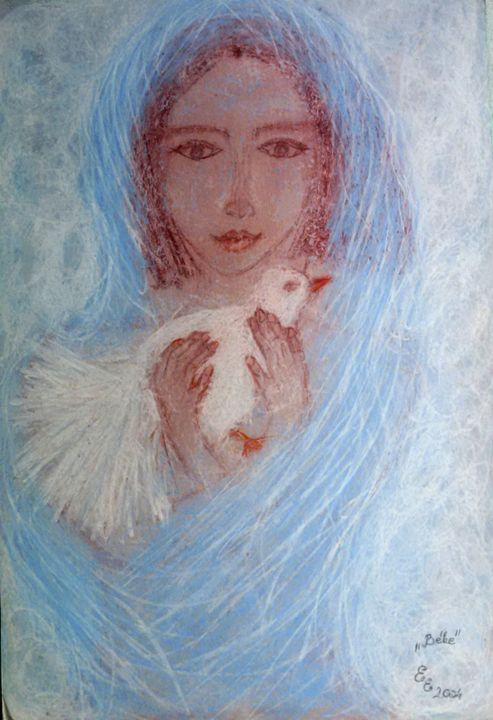Peace - engierzsi's oil-chalk drawings