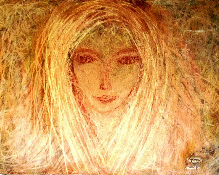 Field - engierzsi's oil-chalk drawings