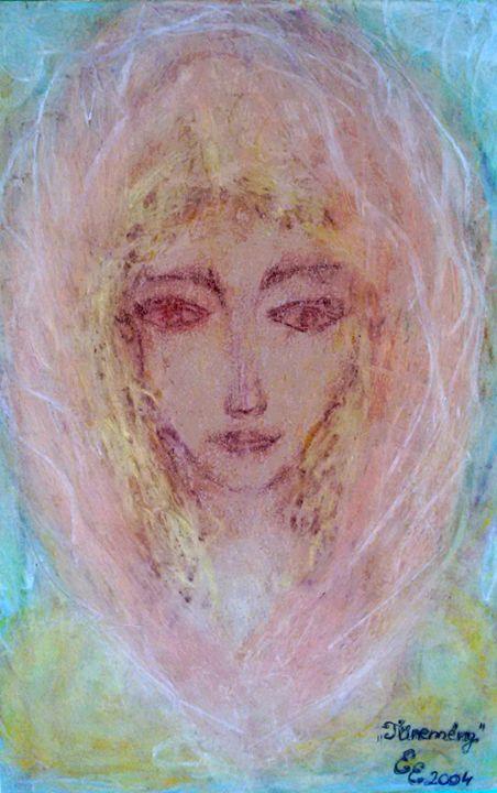 Phenomenon - engierzsi's oil-chalk drawings