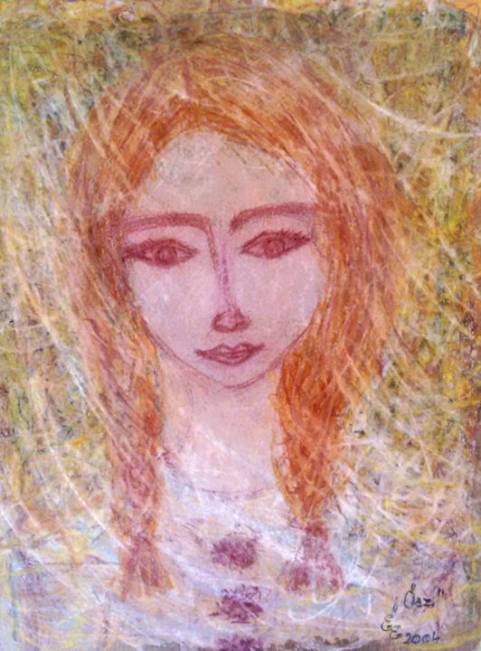 Autumn - engierzsi's oil-chalk drawings