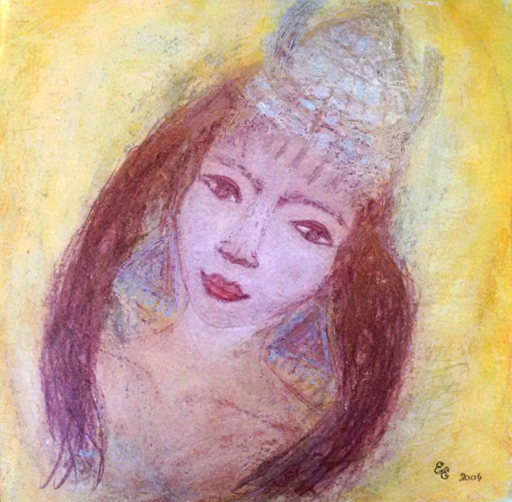 Taurus - engierzsi's oil-chalk drawings