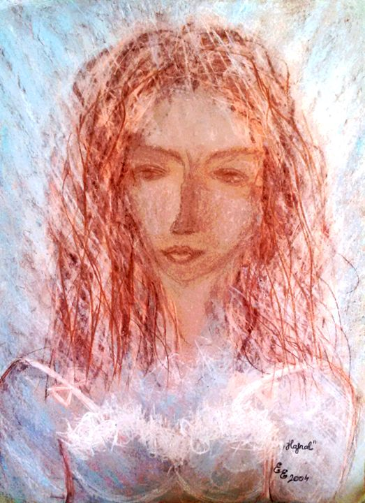 Dawn - engierzsi's oil-chalk drawings