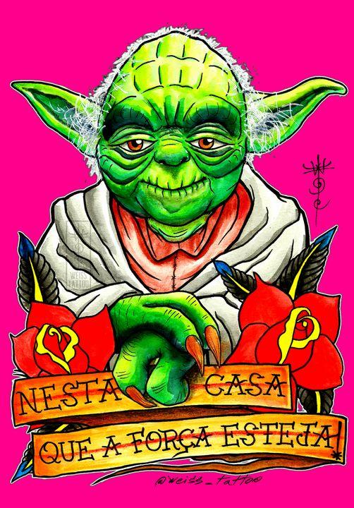 Yoda Master 7 - WEISS TATTOO