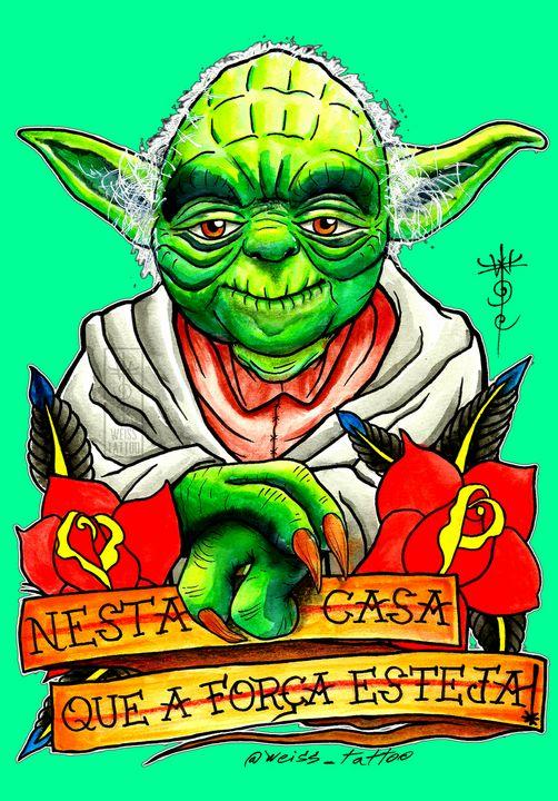 Yoda Master 12 - WEISS TATTOO