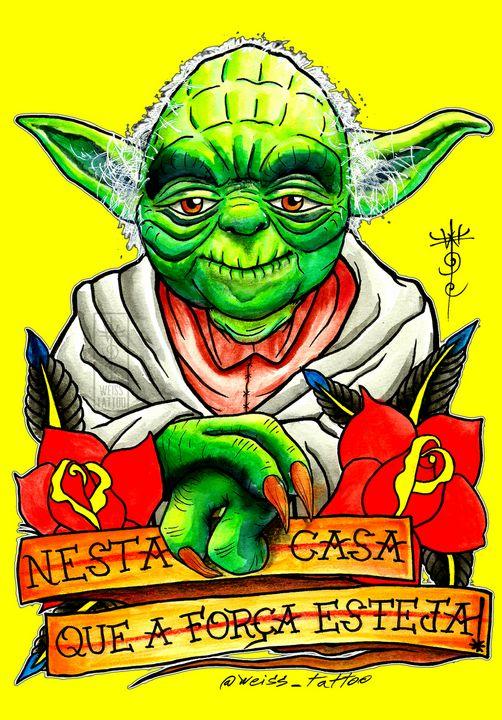 Yoda Master 10 - WEISS TATTOO