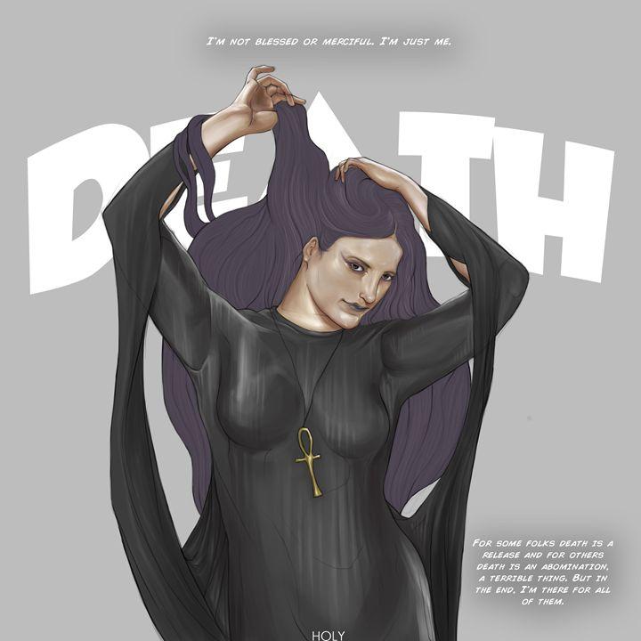Death of the Endless - hikhmalholy