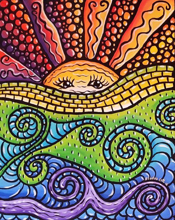 Sunscape Mosaic - Sandra Lett