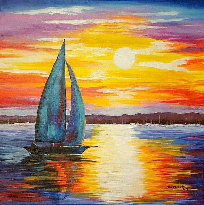 Sail Into Sunset - Sandra Lett
