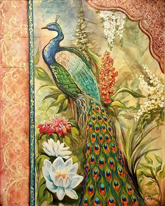 Peacock Fantasy - Sandra Lett