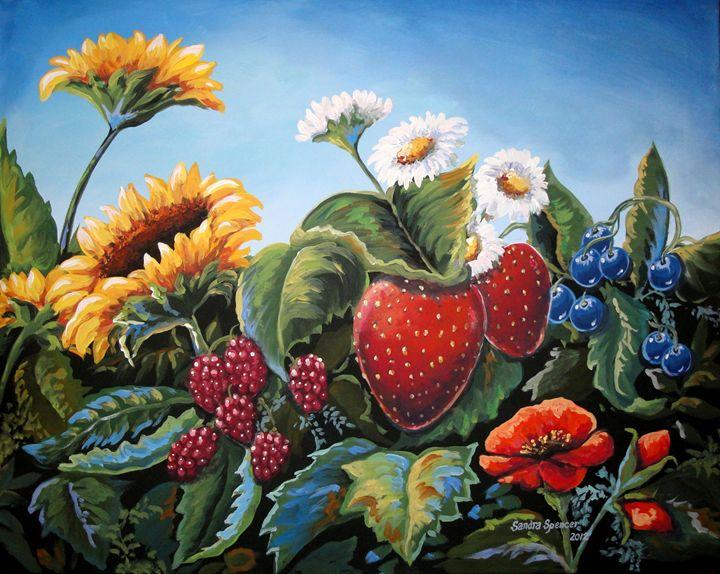 Colorful Bounty - Sandra Lett