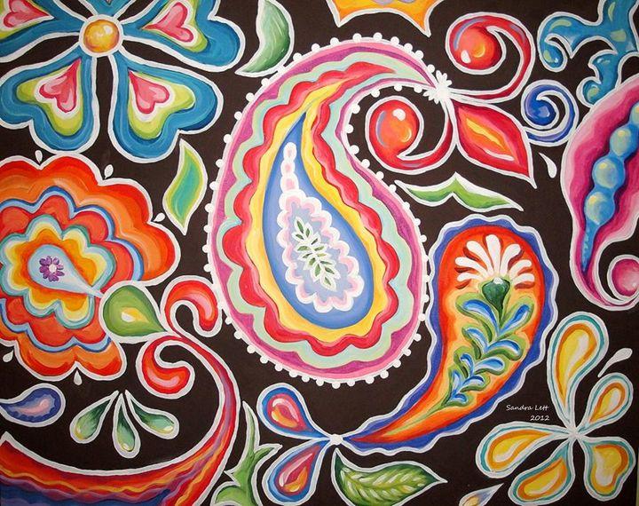 Colors of Happiness - Sandra Lett