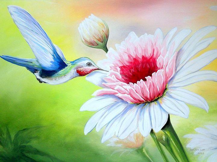 Hummingbird Heaven - Sandra Lett