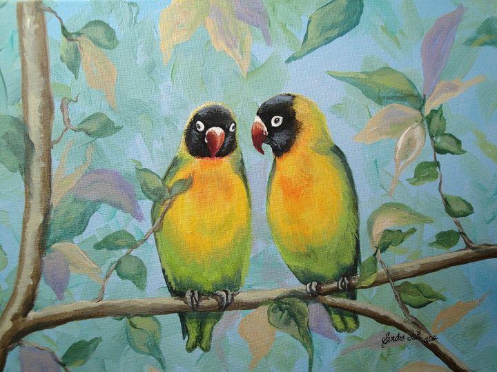 Love Birds - Sandra Lett