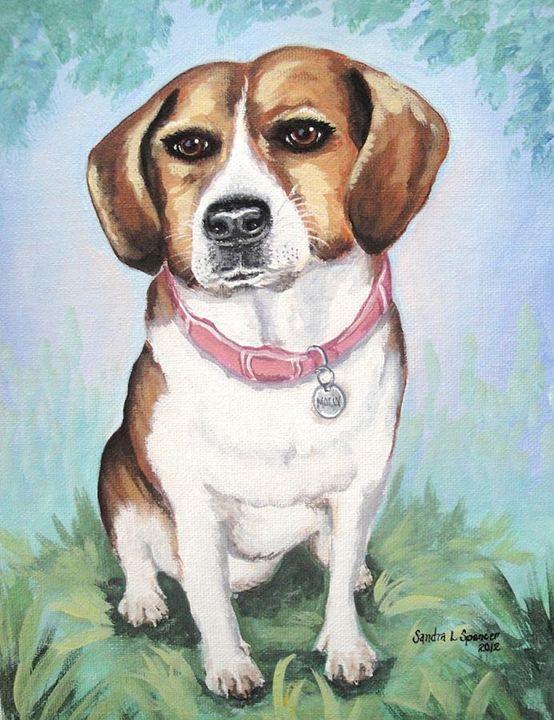 Beagle Love - Sandra Lett