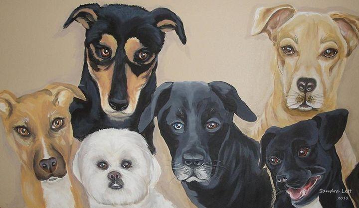 Pets Best Friends - Sandra Lett
