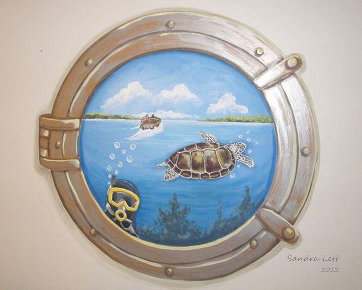 Porthole - Sandra Lett