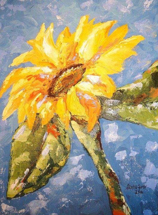 Sunflower Happiness - Sandra Lett