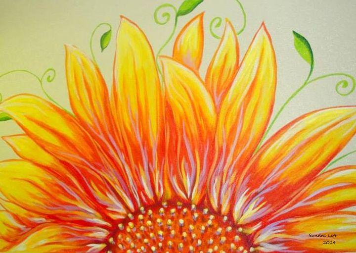 Sunflower - Sandra Lett