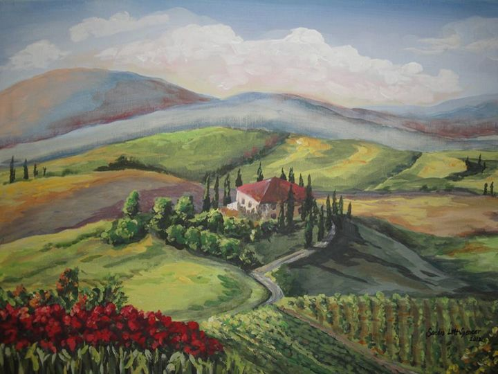 Toscano View - Sandra Lett