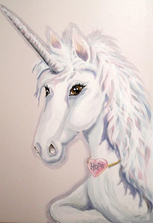 Unicorn of Hope - Sandra Lett