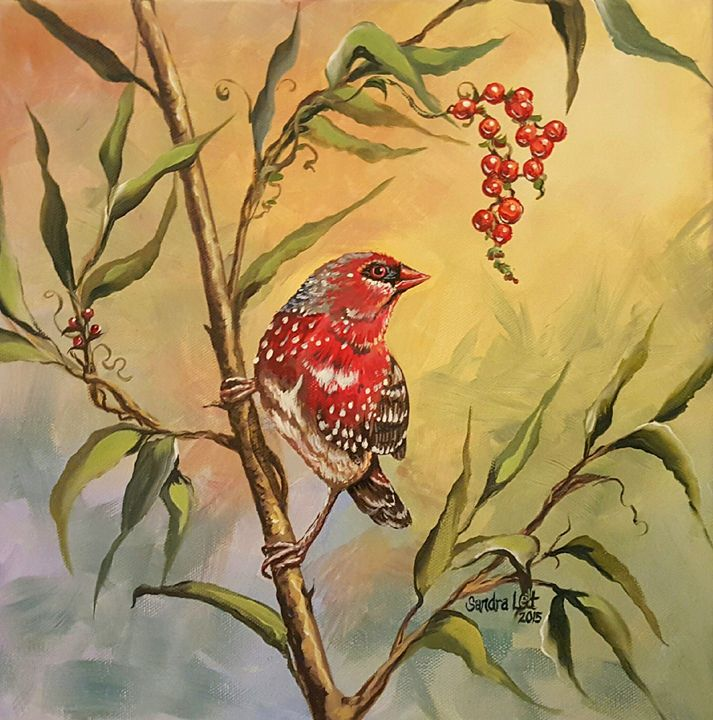 Red Bird - Sandra Lett