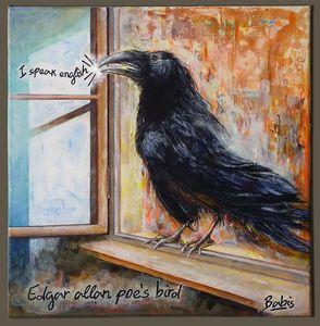 Edgar Allan Poe's bird