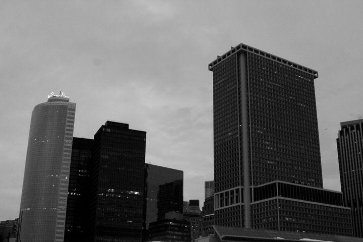 Nighttime City View - C. N. Gray Photos