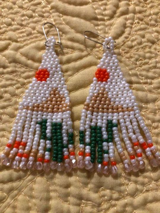 Fringe earrings - SilverStarMountain