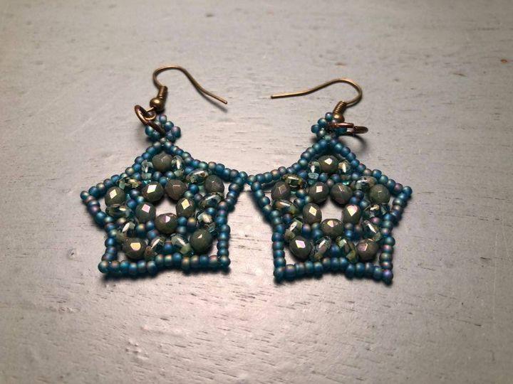 Star Earrings - SilverStarMountain