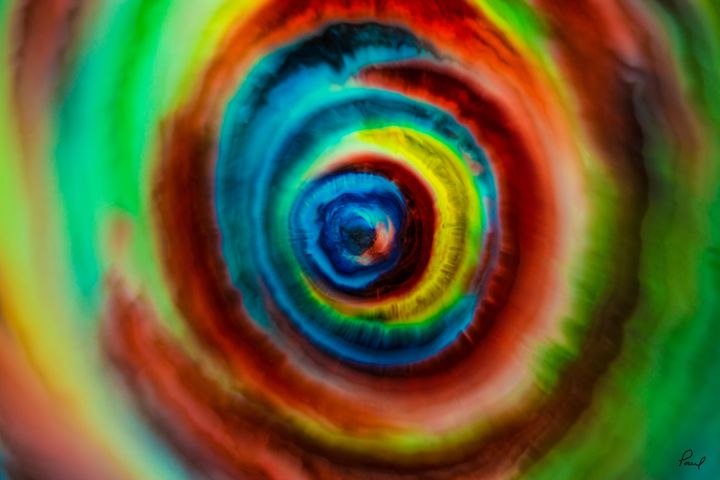 The Vortex - An Abstract World - Artwork by Paul Steele