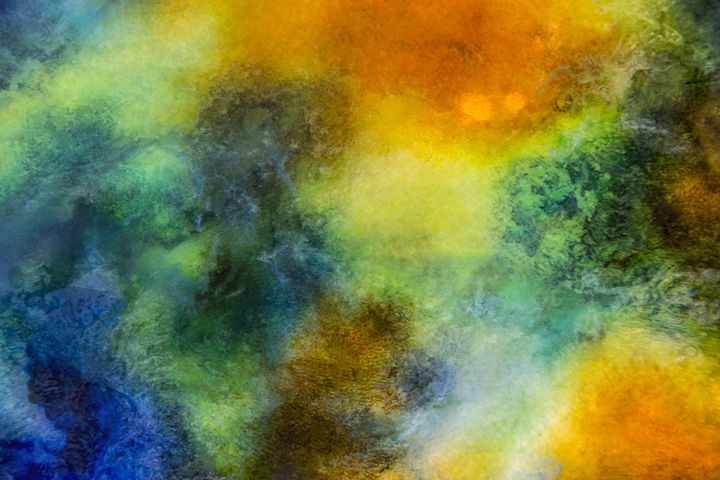Star Dust - An Abstract World - Artwork by Paul Steele