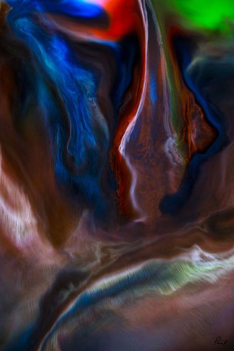 Liquid Lightning #2 - An Abstract World - Artwork by Paul Steele
