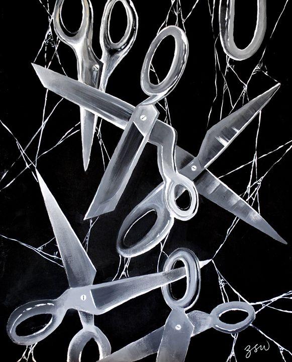 Cutting The Suspension - Zoë White Studios