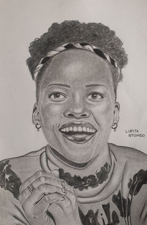 Lupita Nyongo 19 - Art by WILKY