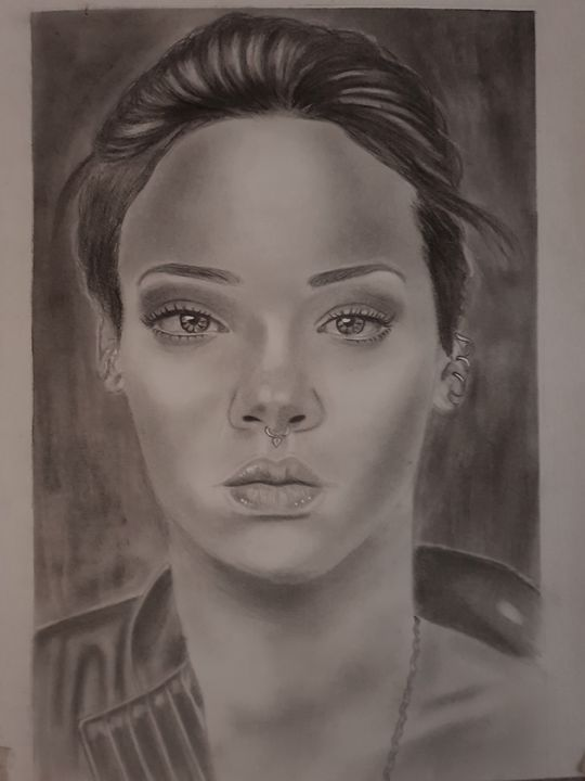 Rihanna 18 - Art by WILKY
