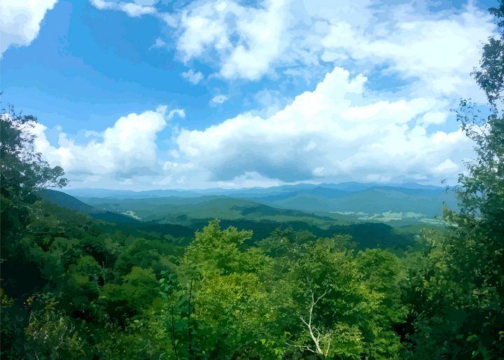 The summit of Blackrock Mountain - Bipolarbasketcase