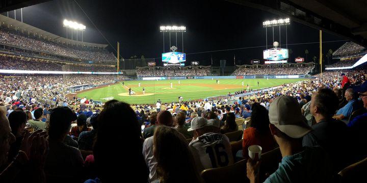 Dodgers Stadium Panoramic - Jon Moore