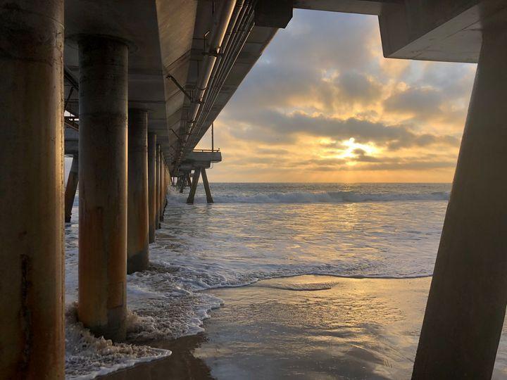 Under the Venice Pier - Jon Moore